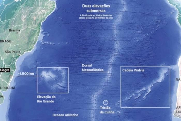 Arquipélago submerso com praia e rio é achado no Rio Grande do Sul