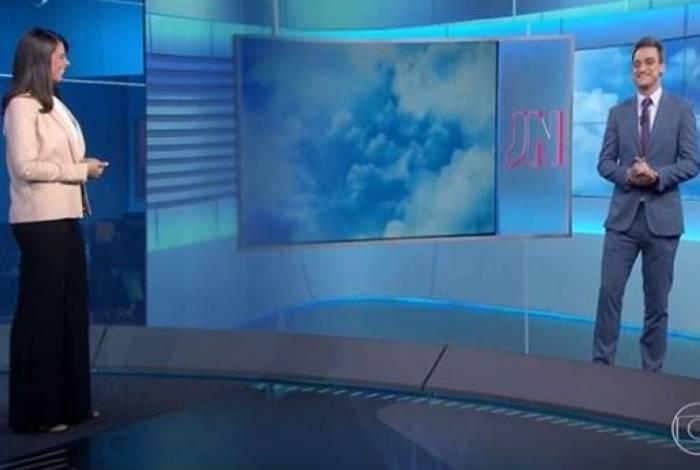 Apresentadora Jessica Senra saiu em defesa do colega após críticas contra fala sobre Bahia