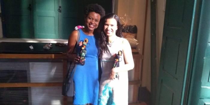 As jornalistas Gabriela Anastácio e Bia Carvalho são as oficineiras