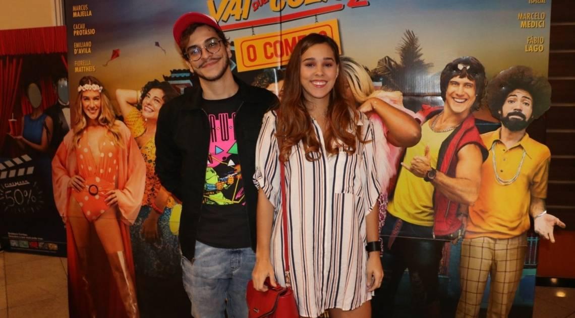 Diversos famosos compareceram na pré-estreia do filme, que aconteceu na noite de segunda-feira, na Zona Oeste do Rio