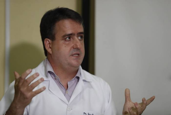 Joe Sestello, diretor do Hospital da Posse