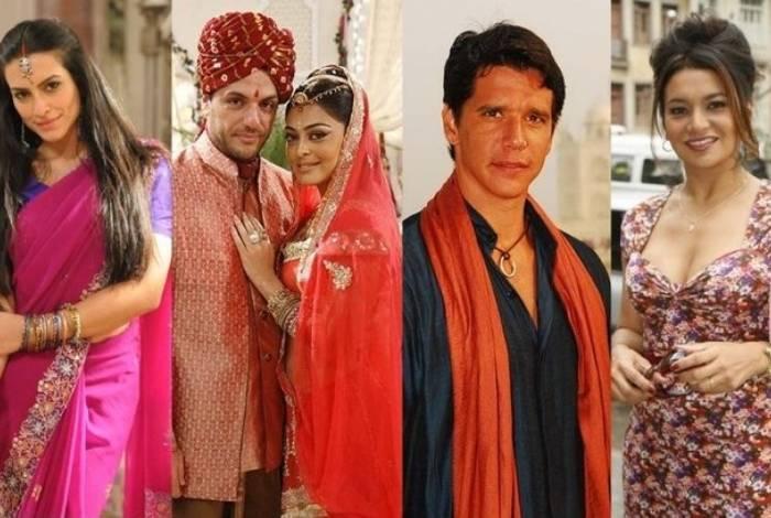 'Caminho das Índias' foi uma novela que alavancou a carreira de vários atores