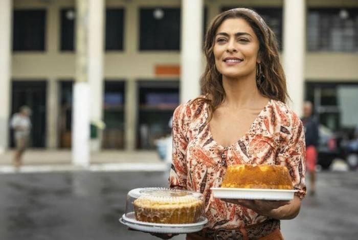 Juliana Paes como Maria da Paz: vencedora do reality 'Best Cake'