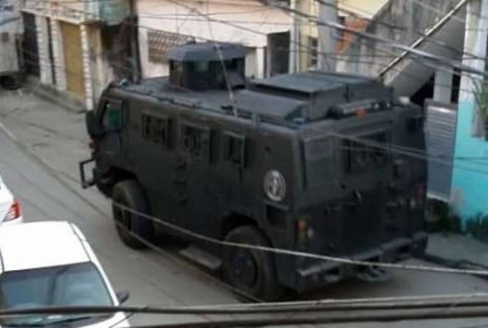 Operação de ontem teve participação das polícias Civil e Militar