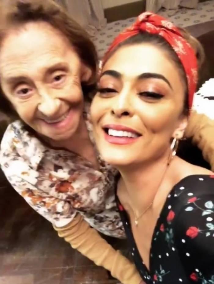 Laura Cardoso e Juliana Paes