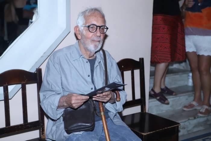 Paulo José na estreia da peça 'Macunaíma', no Rio
