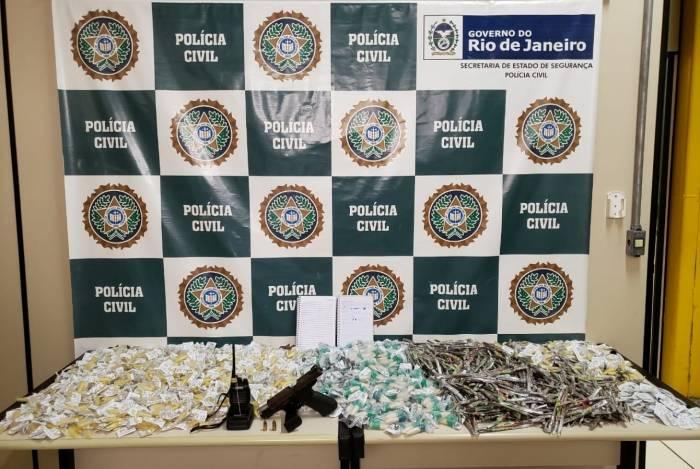 Segundo agentes, pistola apreendida foi uma das armas usadas no assassinato do vereador Ciraldo Fernandes