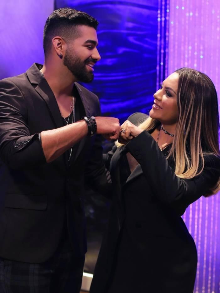 Márcia Felipe e Dilsinho