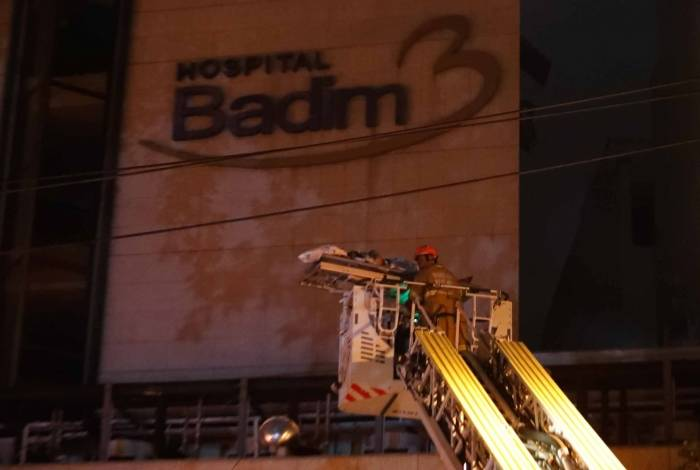 Incêndio no Hospital Badim