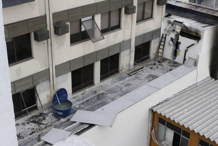 Incêndio no Hospital Badim começou na quinta-feira