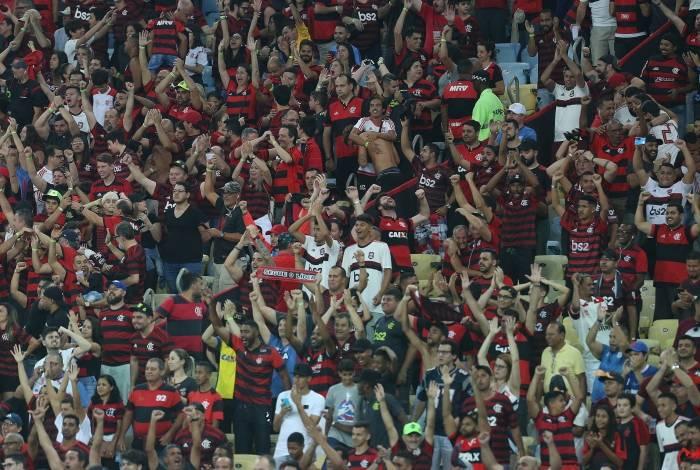 Torcida do Flamengo esgotou toda a carga de ingressos disponíveis para os visitantes