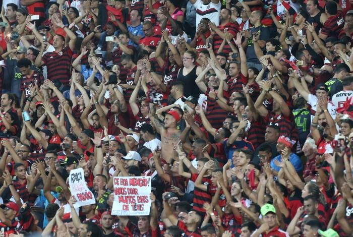 Torcida do Flamengo. Foto: Daniel Castelo Branco - Agencia O Dia