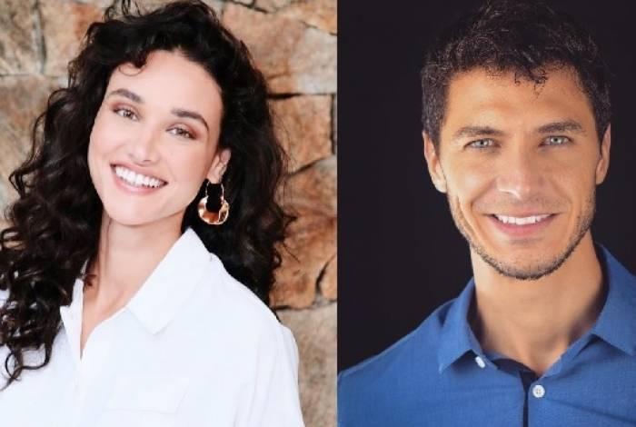 Débora Nascimento e Luiz Perez
