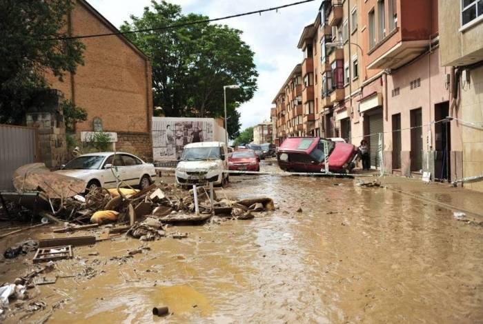Tempestade causou estragos em regiões da Espanha
