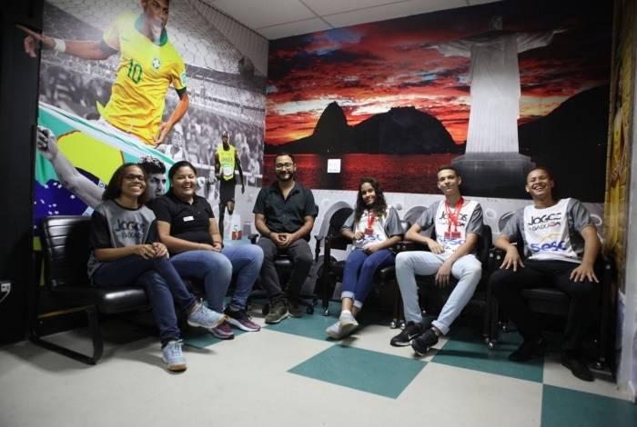 Rio, 17/09/2019  - ESTUDIO, Atletas jogos da Baixada. Centro do  Rio. Foto: Ricardo Cassiano/Agencia O Dia