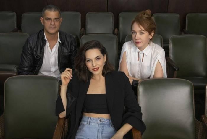 Eduardo Moscovis, Tainá Müller e Camila Morgado estão no elenco de 'Bom Dia, Verônica'
