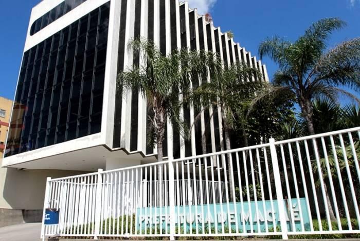 Fachada da Prefeitura de Macaé