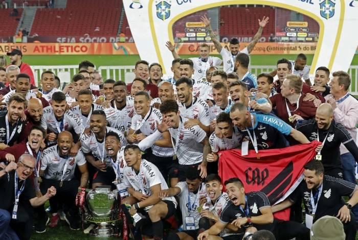 Athletico-PR venceu a Copa do Brasil
