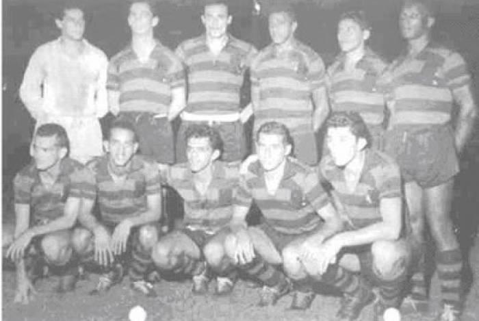 Jogadores de Flamengo e Vasco se juntaram para homenagear Gilberto Cardoso