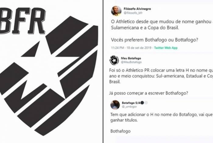Torcedores brincam com a mudança de nome do clube Alvinegro