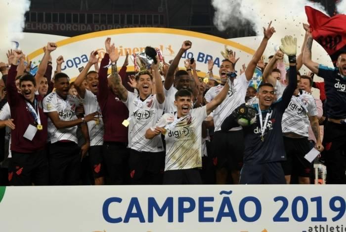 Athletico-PR conquistou título