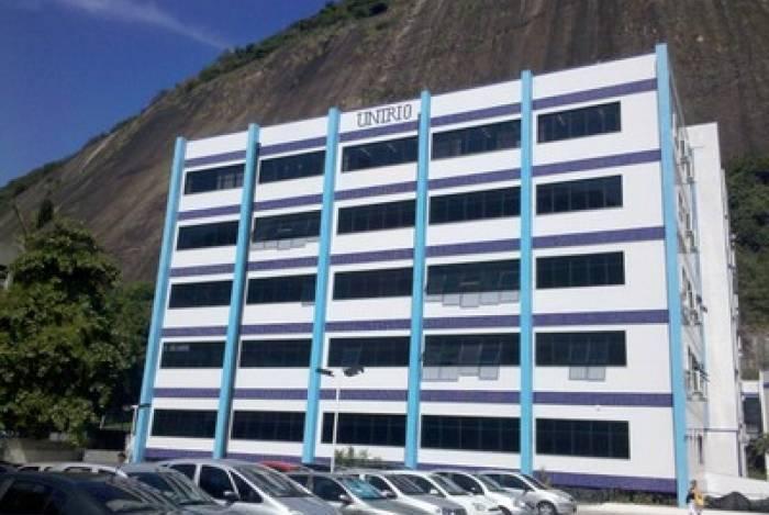 Prédio que abriga o setor IBIO da Universidade