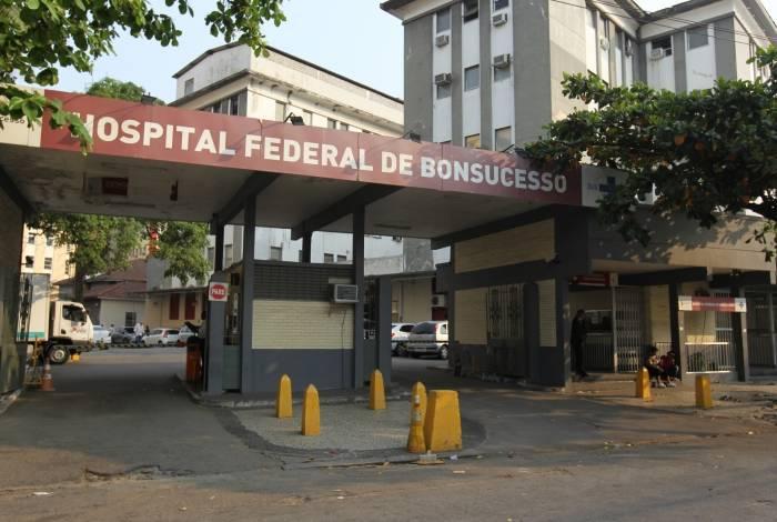 PMs foram socorridos no Hospital Federal de Bonsucesso