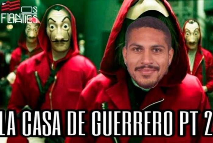 Torcedores ironizaram Guerrero