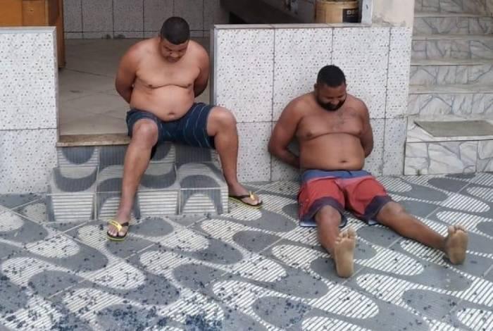 João Teixeira dos Passos, conhecido como Jota, e Ednílson Jesus da Silva, conhecido como Baiano, foram presos em Lídice, no município de Rio Claro