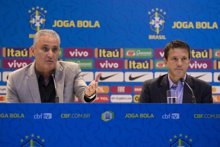 Tite convocou a seleção brasileira para dois amistosos em Singapura