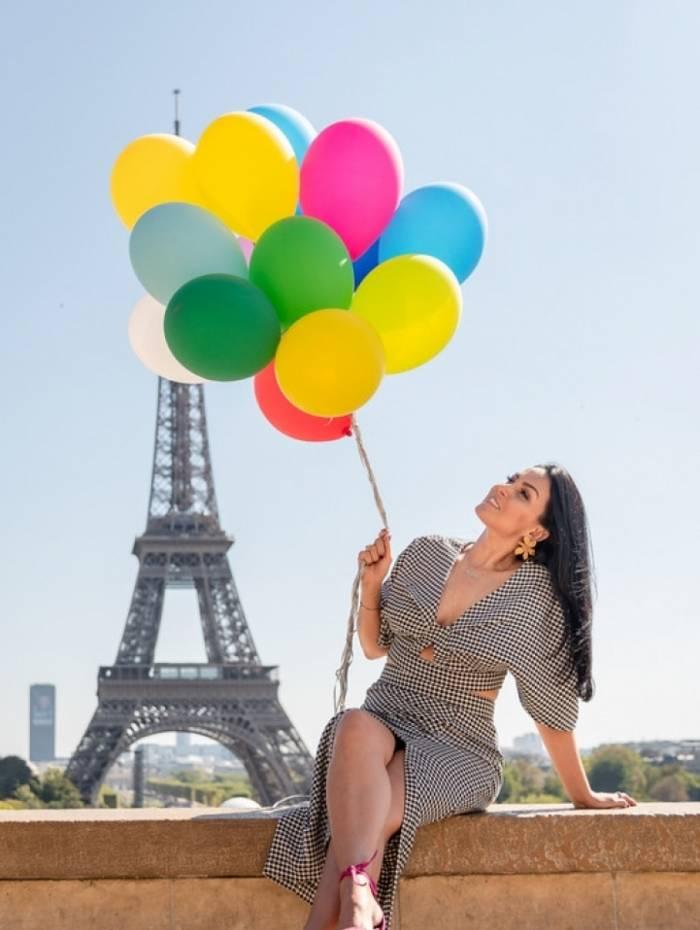 Gardênia Cavalcante em Paris