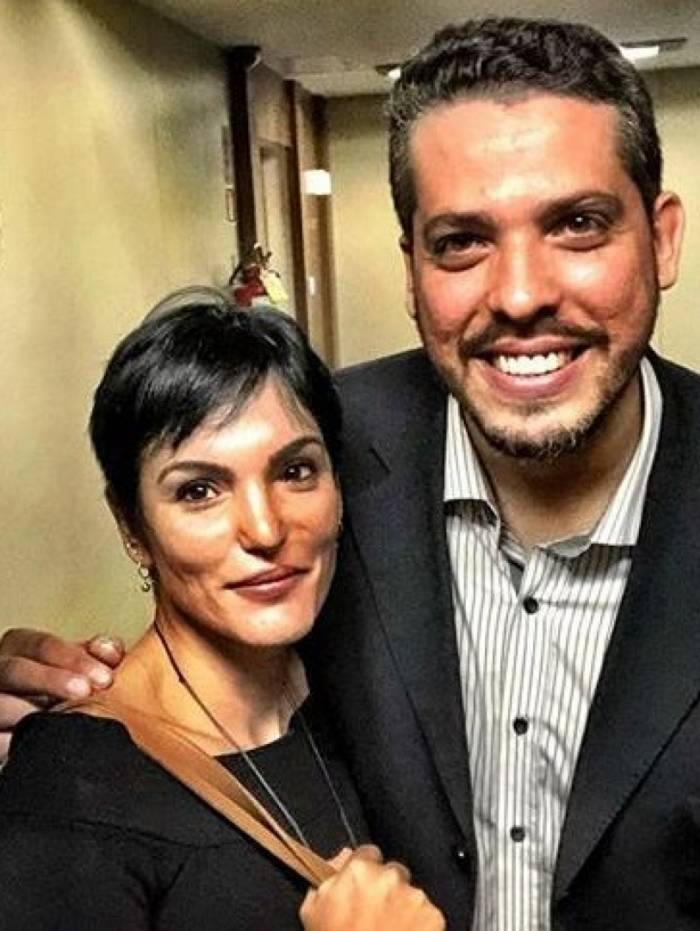 Luciana Tamburini e Rodrigo Amorim