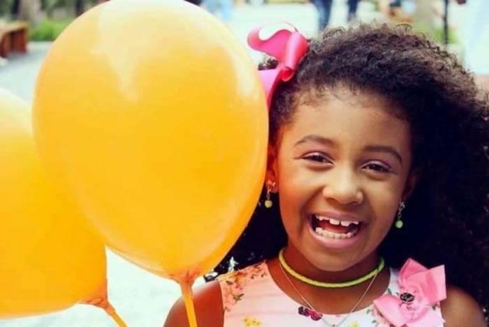 Ágatha Félix, de 8 anos, foi morta em setembro deste ano, no Complexo do Alemão