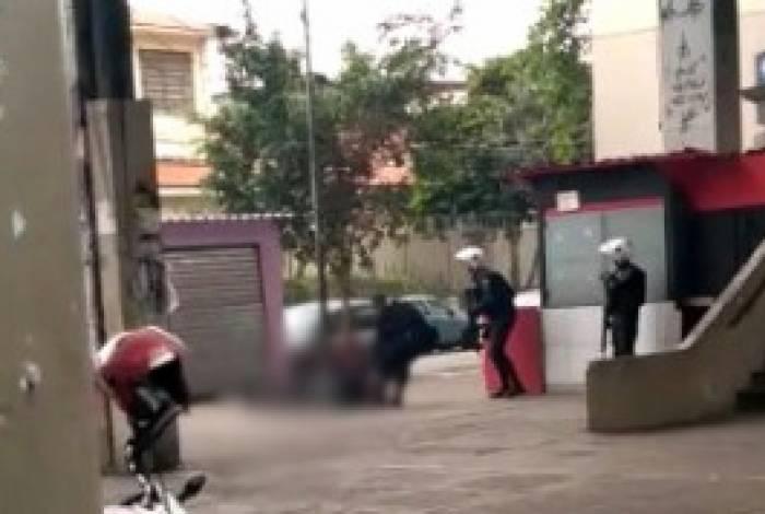 Militar foi baleado próximo a Estação de Triagem