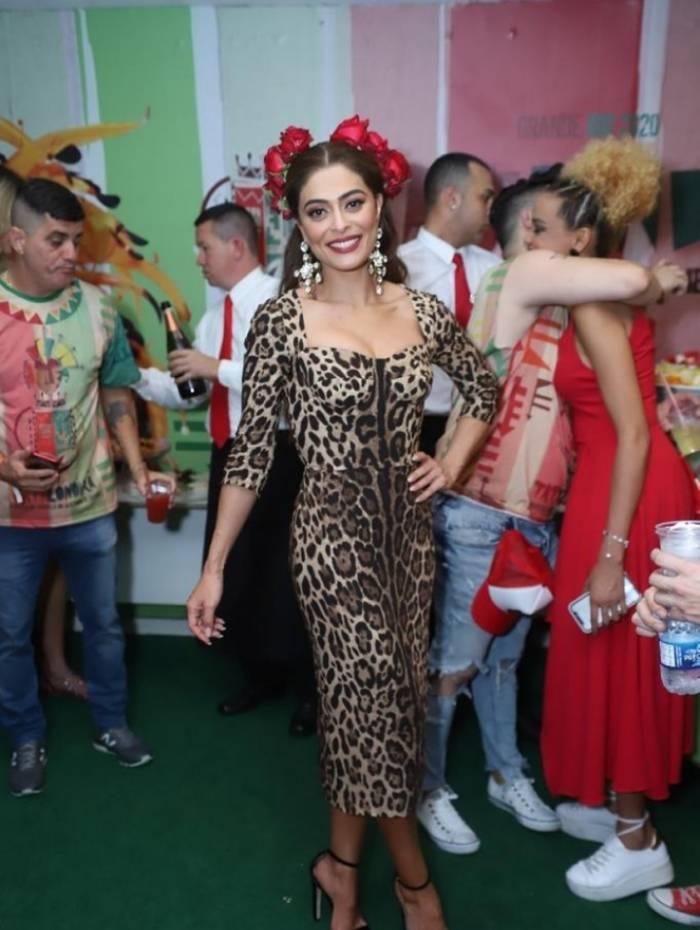 Juliana Paes na coroação de Paolla Oliveira