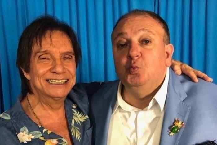 Roberto Carlos e Erick Jacquin