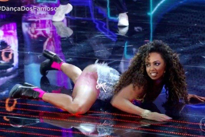 Dandara Mariana se destaca dançando funk na 'Dança dos Famosos'