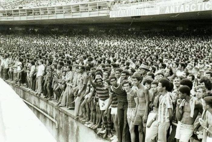 A Geral era conhecida como um dos espaços mais democráticos do futebol brasileiro