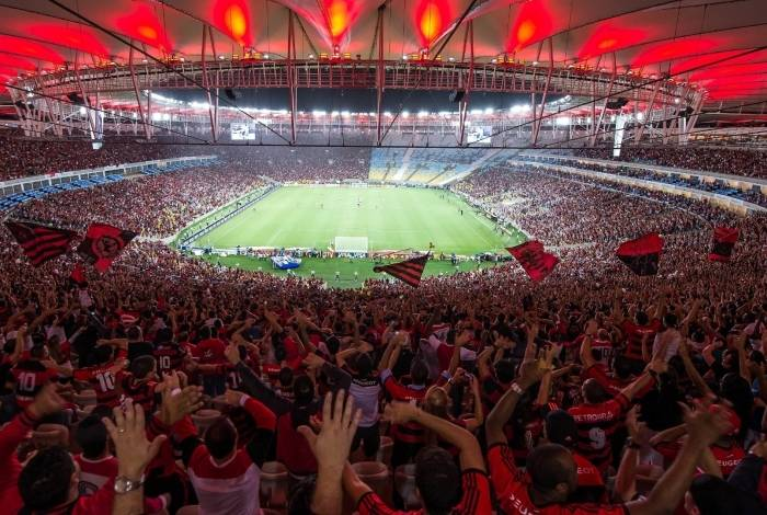 A audiência da torcida do Fla, no estádio ou na televisão, é imensa