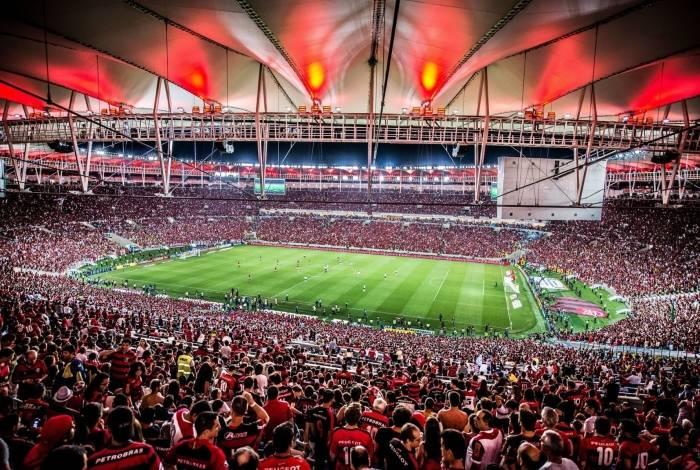Maracanã lotado em jogo do Flamengo. Alexandre Vidal