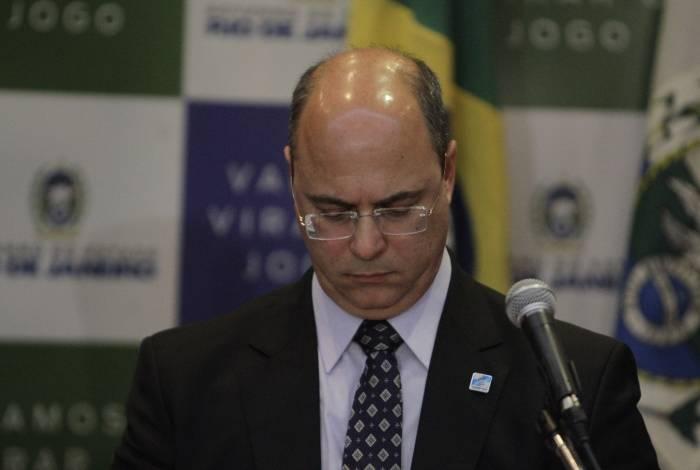 Governador do Rio de Janeiro, Wilson Witzel.