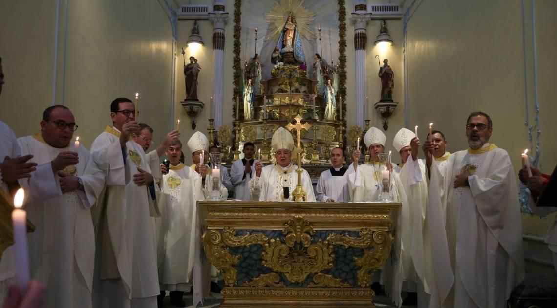 Missa da Paz na Igreja da Penha foi realizada por Cardeal Orani João Tempesta
