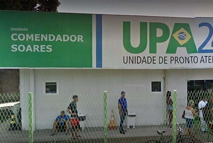 Baleada deu entrada na Unidade de Pronto Atendimento (UPA) de Comendador Soares