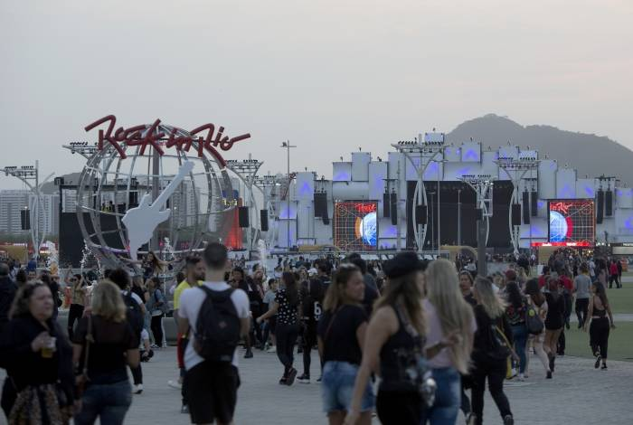 Público curte o Rock In Rio