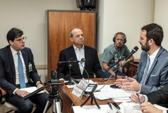 Ex-governador Sérgio Cabral foi ouvido nesta terça-feira pelo presidente da CPI do Rioprevidência, Flávio Serafini (Psol), e demais integrantes da comissão