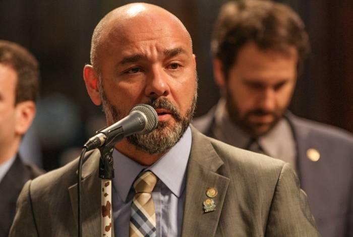 Deputado Márcio Pacheco (PSC), líder do governo na Alerj