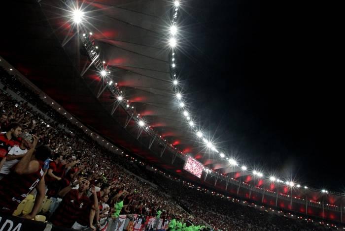 O Maracanã abrirá as portas para transmitir o jogo em 10 telões de LED