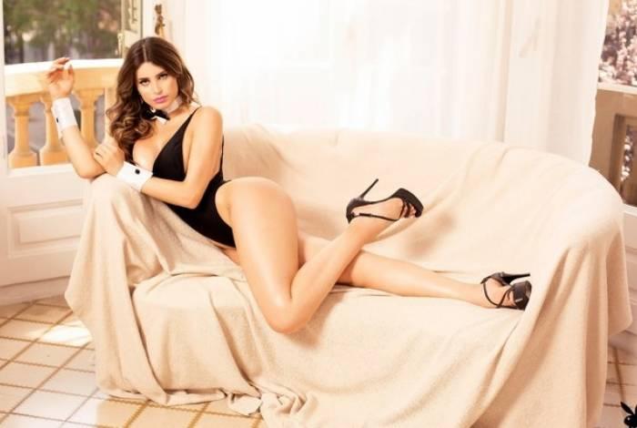 Mariah Fernandes na Playboy