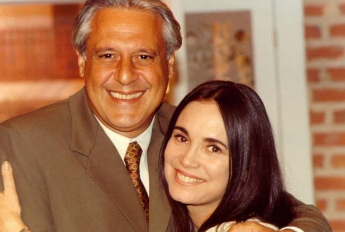 Atílio (Antonio Fagundes) e Helena (Regina Duarte)