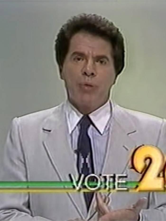 Há 30 anos, Silvio Santos tentava disputar a eleição para presidente do Brasil